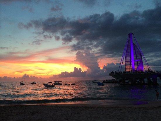 Si Senor Beach: Sunset from Si Senor