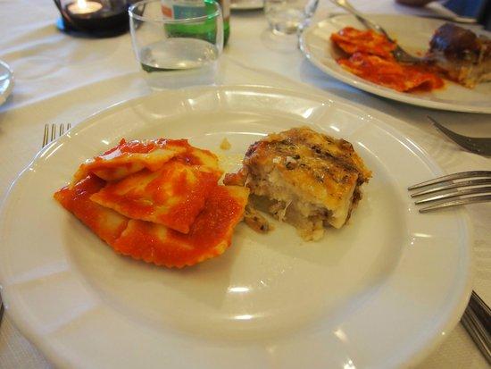 Hotel Palau: cena gallurese-primo piatto