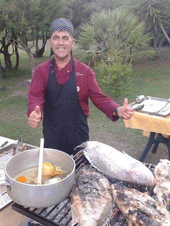 Parco Blu Club Hotel Resort : Lo Chef Fabrizio e le sue creazioni