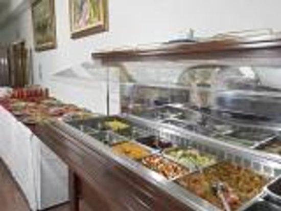 Atlantic Hotel: buffet di verdure e antipasti