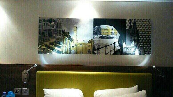 Hampton by Hilton Birmingham Broad Street : room 1004