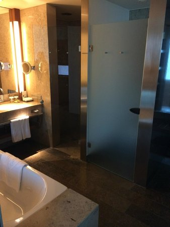 InterContinental Berlin: Executive floor bathroom