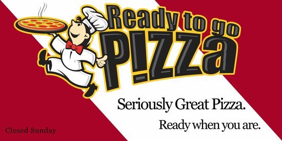 Ready to go Pizza: Seriously Great Pizza