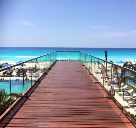 Secrets The Vine Cancún: Another incredible day and view from Secrets the Vine Cancun