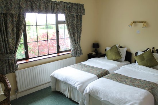 Riverview House Bed and Breakfast: twin ensuite room