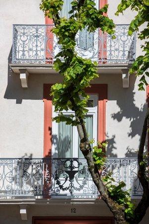 Arverna Citotel Vichy : Balcon