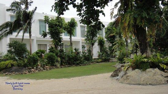 Casa Pilar Beach Resort: New hotel building