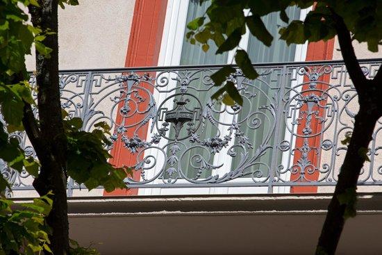 Arverna Citotel Vichy: Balcon