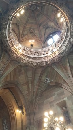 The John Rylands Library: The inside