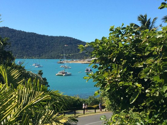 Coral Sea Resort: Looking onto Airlie Beach