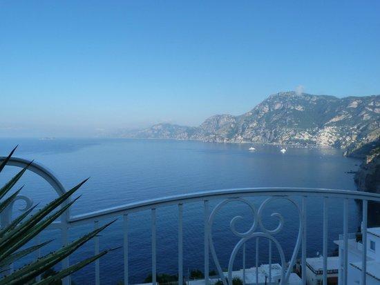 Hotel Smeraldo: terrasse avec vue