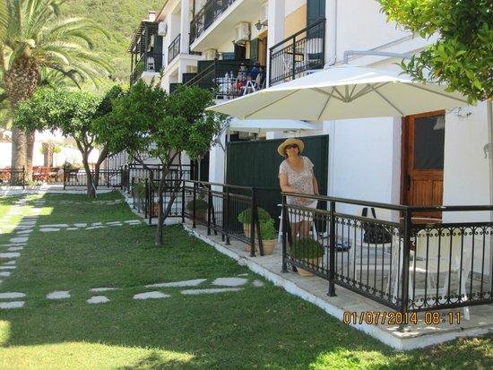 Hotel Panormos Beach Skopelos: front of Hotel