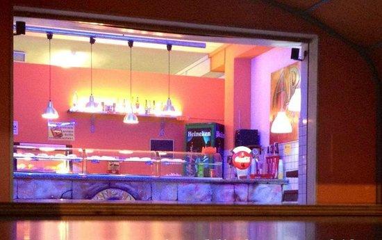 Arnold's Pizza & Co.: Il bancone