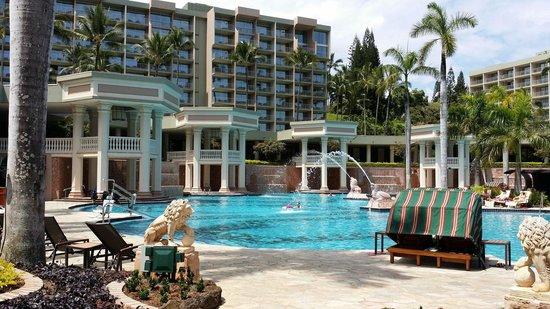 Kaua'i Marriott Resort : Hotel pool