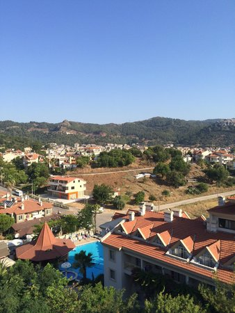 Grand Cettia Hotel: View from room 516