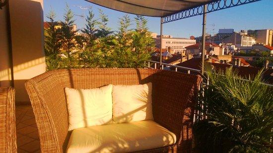 Baglioni Hotel Carlton: Private Terrace