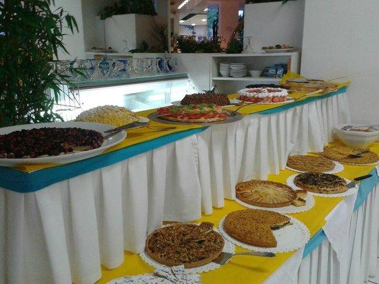 Hotel Bellevue: buffet dei dolci