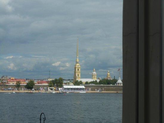 Moscow Hotel : Vue de ma chambre.