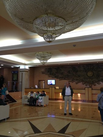 Moscow Hotel : Le Lobby.