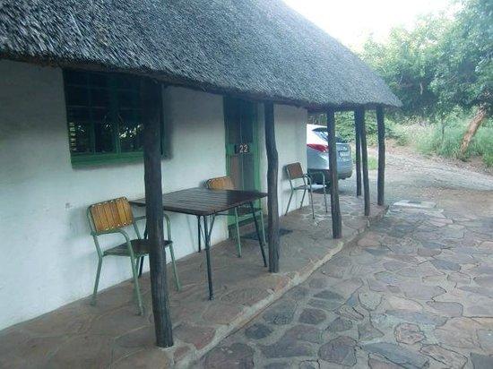 "Punda Maria Restcamp: ""Ons"" huisje 22 in Restcamp Punda Maria (maart 2014)"