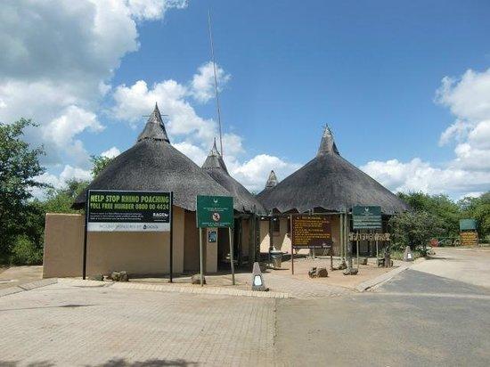 Punda Maria Restcamp: Pafuri Gate (maart 2014)