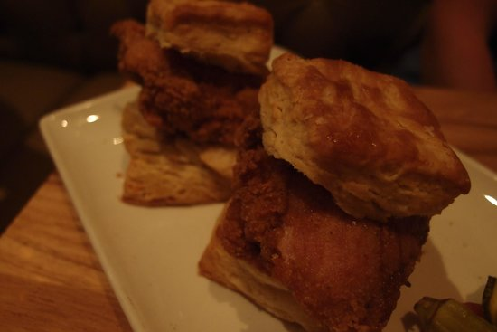 Yardbird - Southern Table & Bar : Mama's chicken biscuits