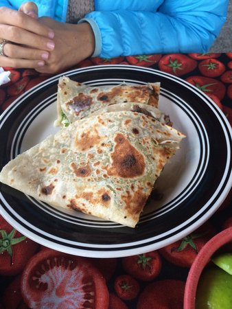 Charly's Place: Quesadilla.