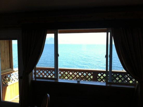 Homer Inn & Spa: from the room