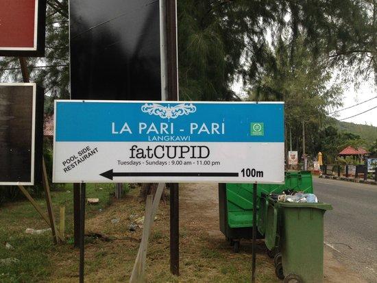 fatCUPID: Direction sign