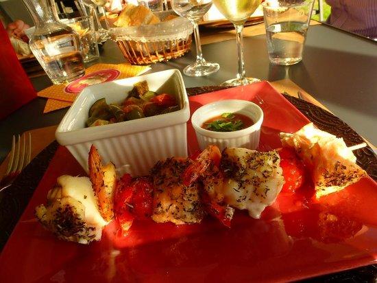 Le Temps des Hôtes : dinner one evening