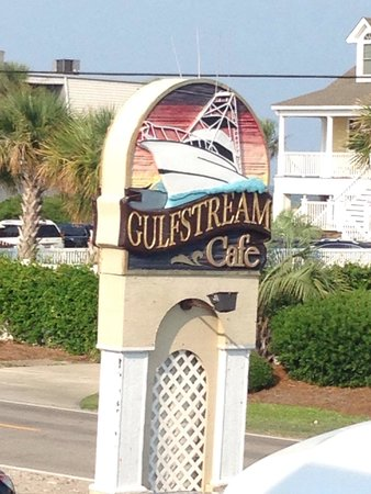 View Of Murrell 39 S Inlet From The Deck Picture Of Gulfstream Cafe Garden City Beach Tripadvisor