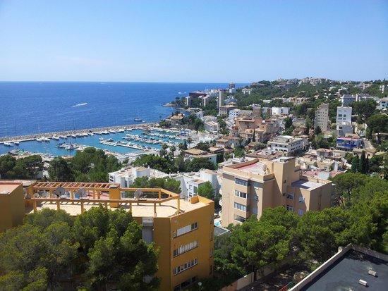 Hotel Blue Bay: vista porto san augustin