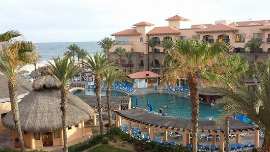 Royal Solaris Los Cabos : View from our Room - Semi Ocean View