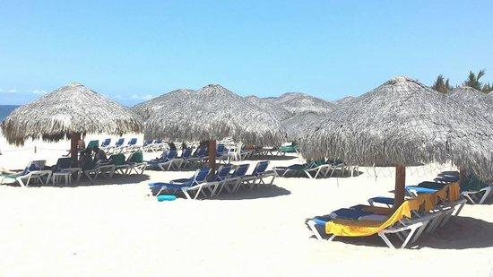 Royal Solaris Los Cabos : Beach area at hotel