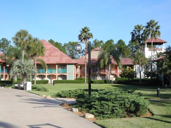 Disney's Coronado Springs Resort: Colorful Buildings