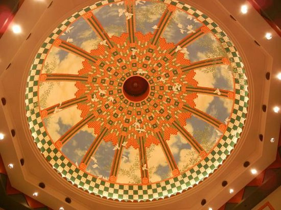 Disney's Coronado Springs Resort: Atrium Dome