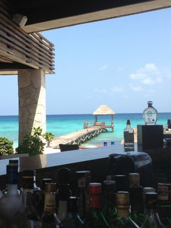 Viceroy Riviera Maya: View from the Coral Bar & Grill
