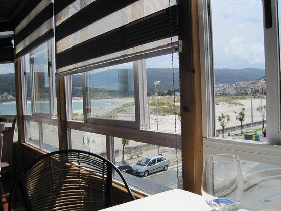Casa do Arco: Vistas desde el comedor del restaurante.-