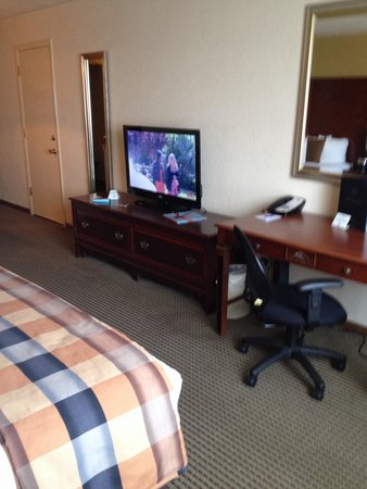 BEST WESTERN PLUS Milwaukee Airport Hotel & Conference Ctr.: Good tv but the rest it is just old