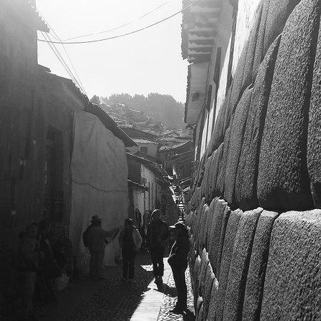 Ruas de San Blas, Cuzco, Peru.