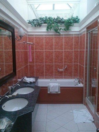 Hilton Edinburgh Grosvenor: Room333 big bathroom!!