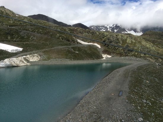 Stubaier Gletscher : View from the trolley