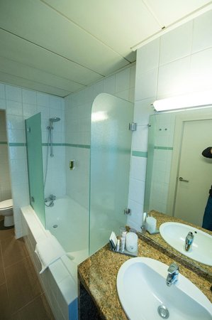 Hotel Gutenberg: salle de bain