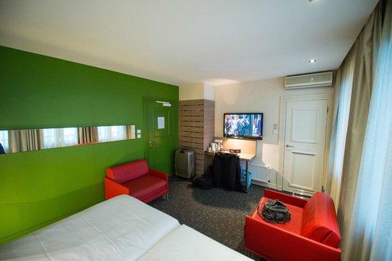 Hotel Gutenberg : la chambre
