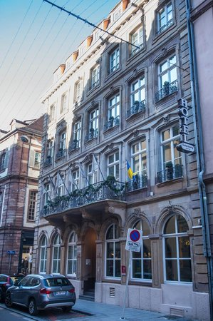 Hotel Gutenberg : la façade