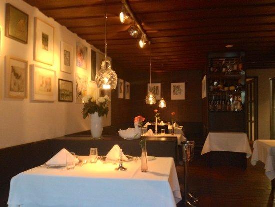 Die Ecke: Sala ristorante interna