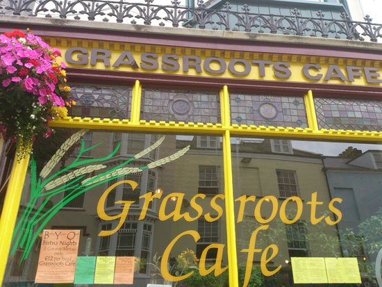 Grass Roots Cafe : gorgeous food