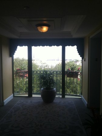 Belmond Charleston Place: view from floor