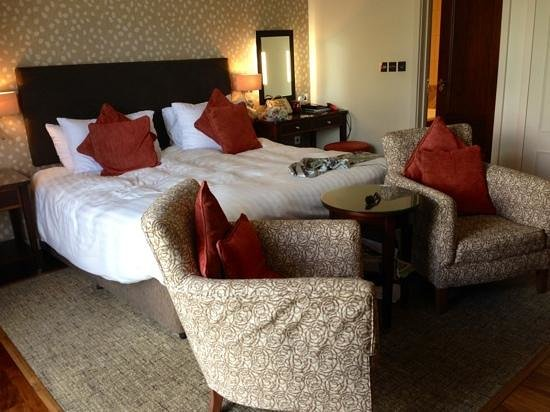 Somerville Hotel: our Garden Room -1