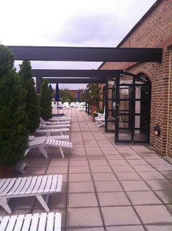 Belmond Charleston Place: sun deck